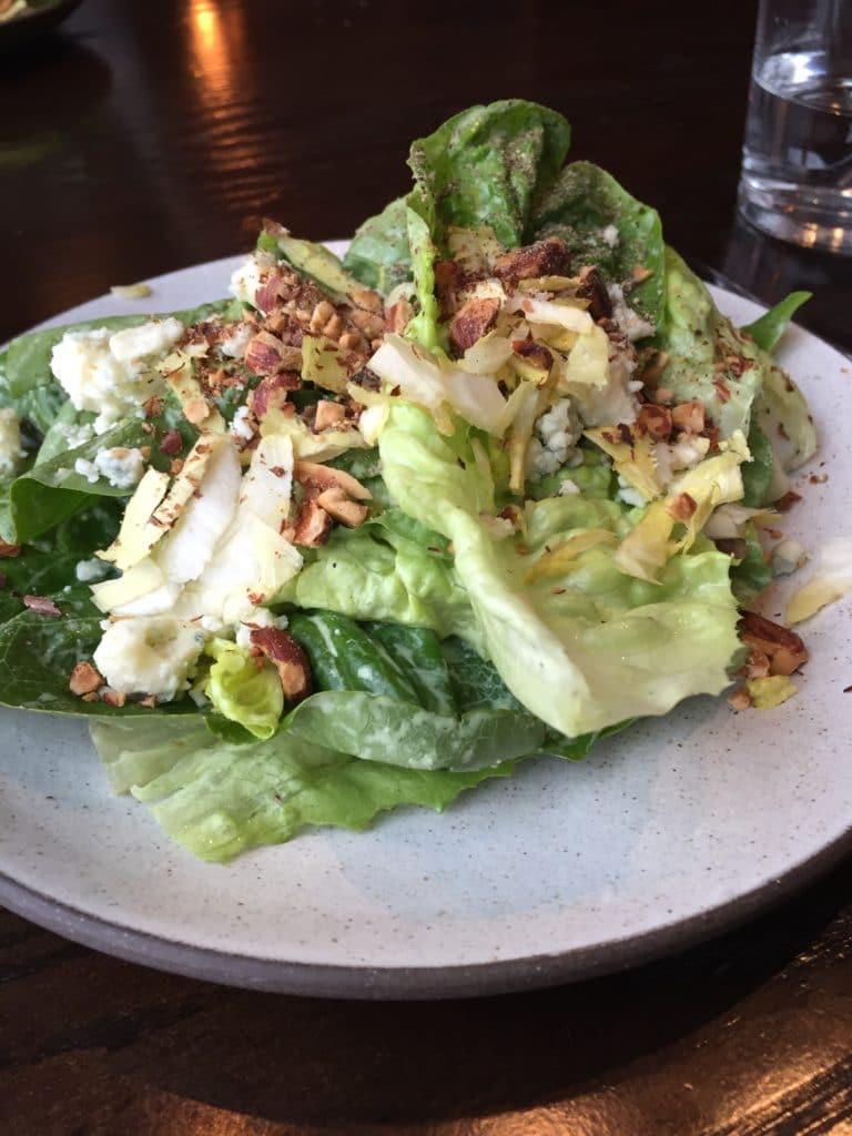 Blue Cheese Gem Lettuce Salad