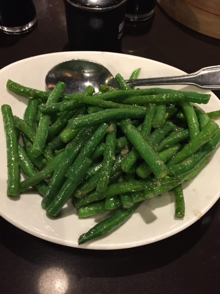 Sauteed String Beans with Garlic
