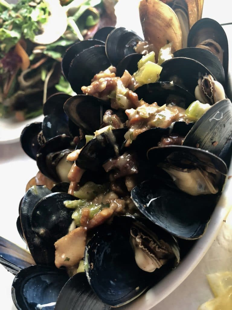 Mussels Pigalle