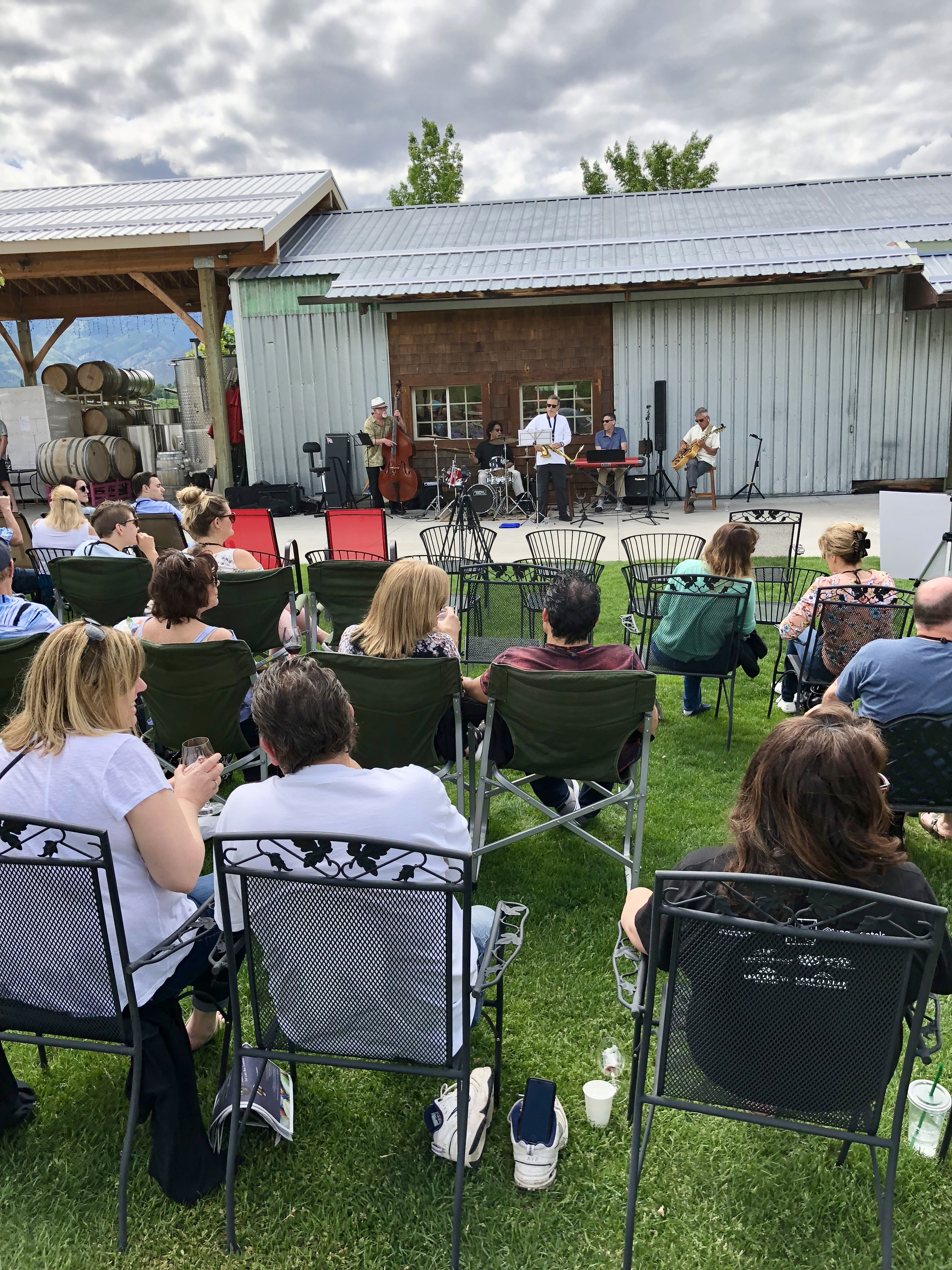 Hard Row to Hoe Jazz at the Vineyard
