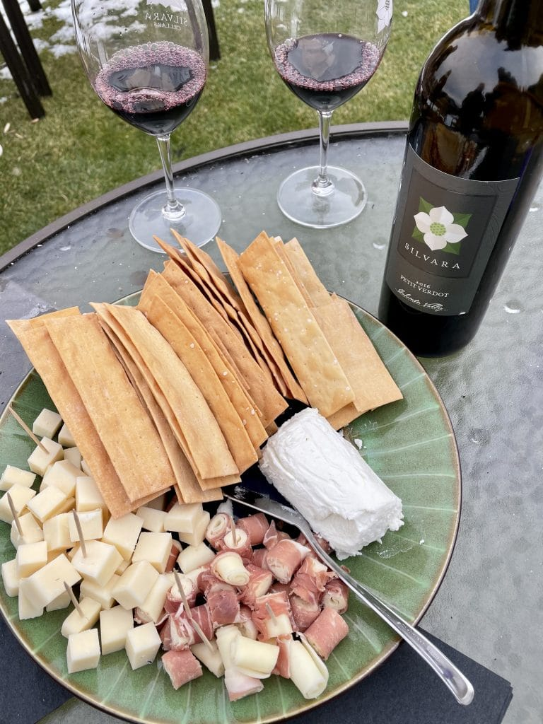 Cheese Plate and a Left Bank Styled Bordeaux Blend