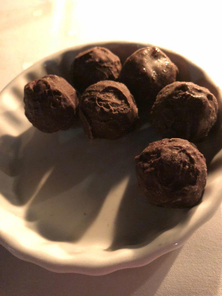 Java Chocolate Truffles