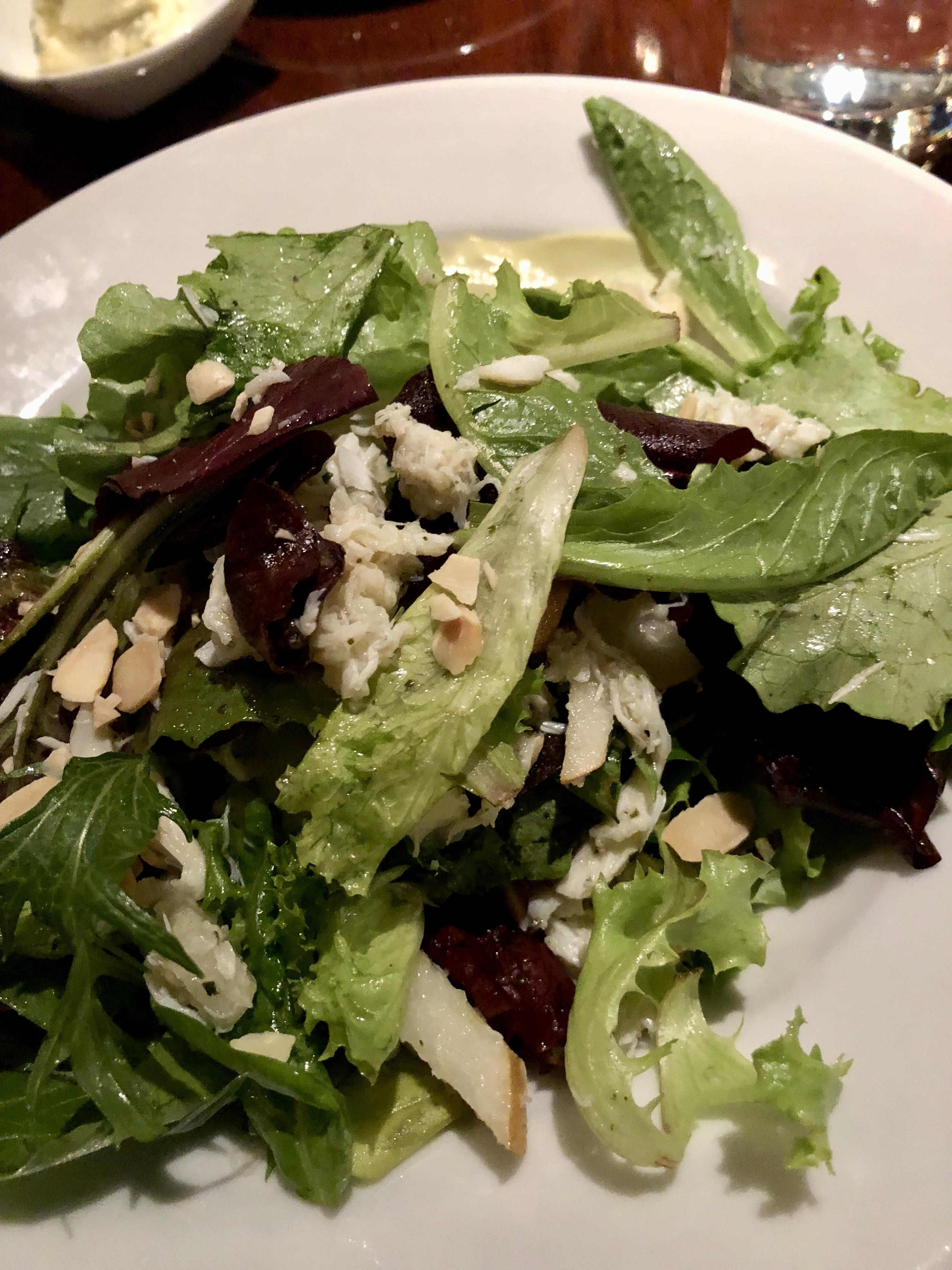 Crab and Asian Pear Salad