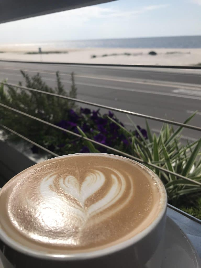 Latte with a View