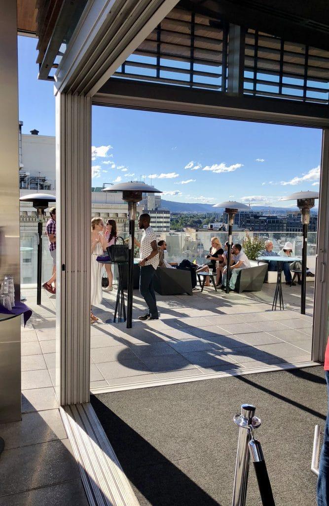 The Alfresco Bar View