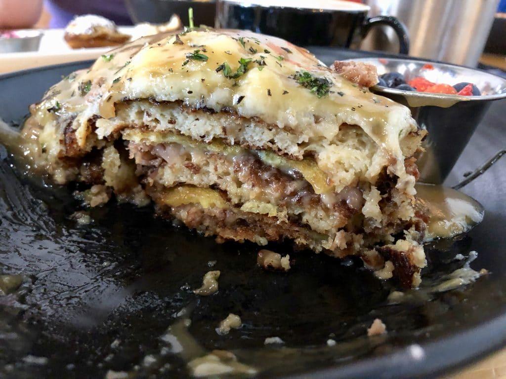 Pancake Lasagna in Cross Section