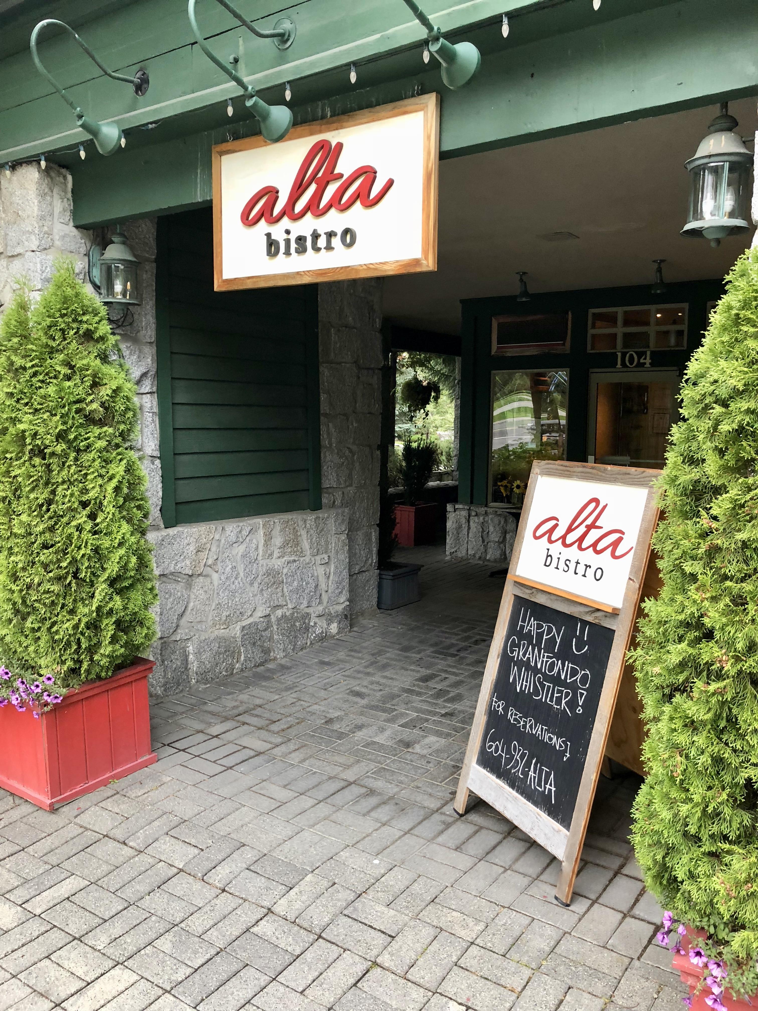Alta Bistro Street View