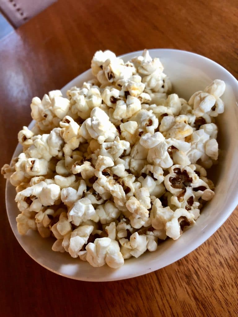 Side of Popcorn for the Table