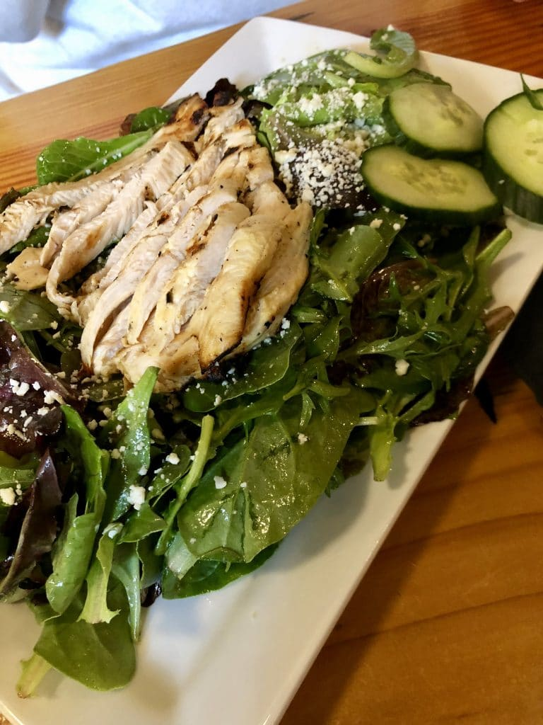 Cafe Salad with Chicken