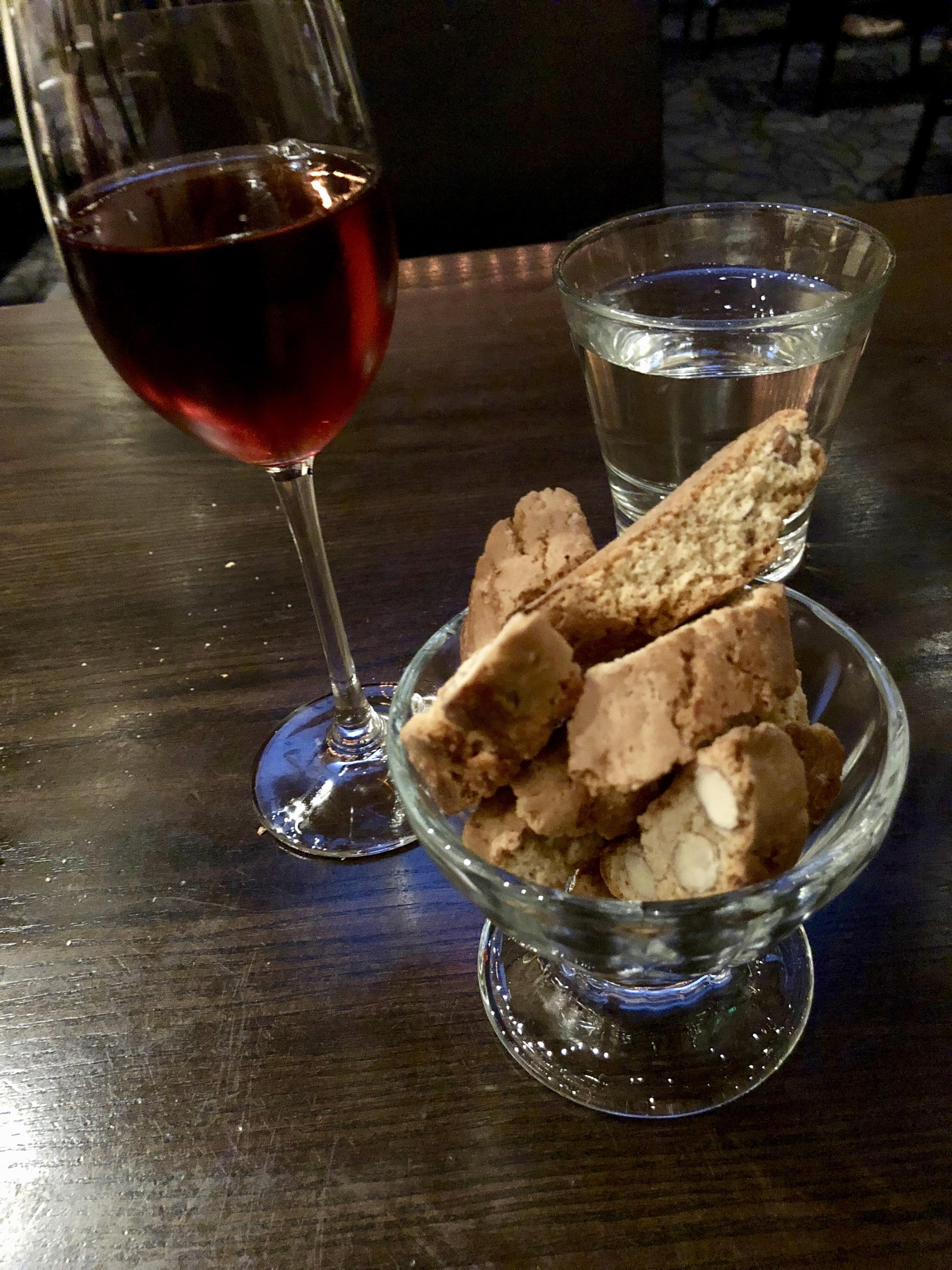 Vin Santo and Almond Biscotti