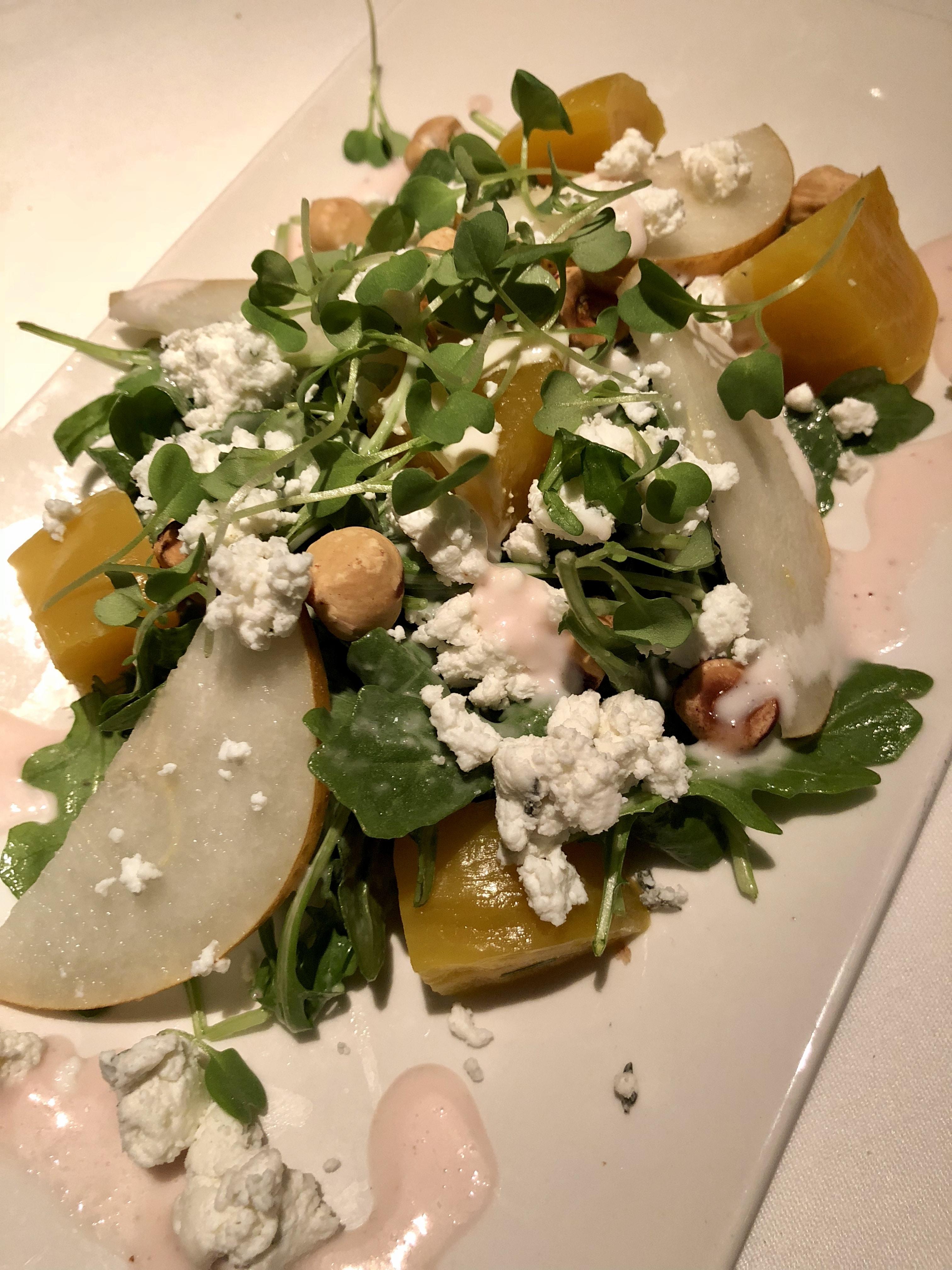Roasted Baby Beet Salad