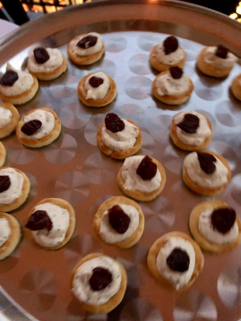 Boursin Cheese Canapé