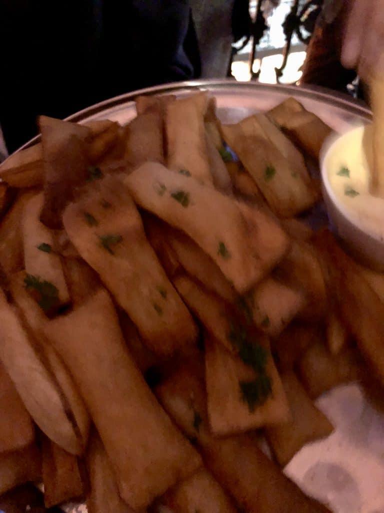 Soufflé Potatoes