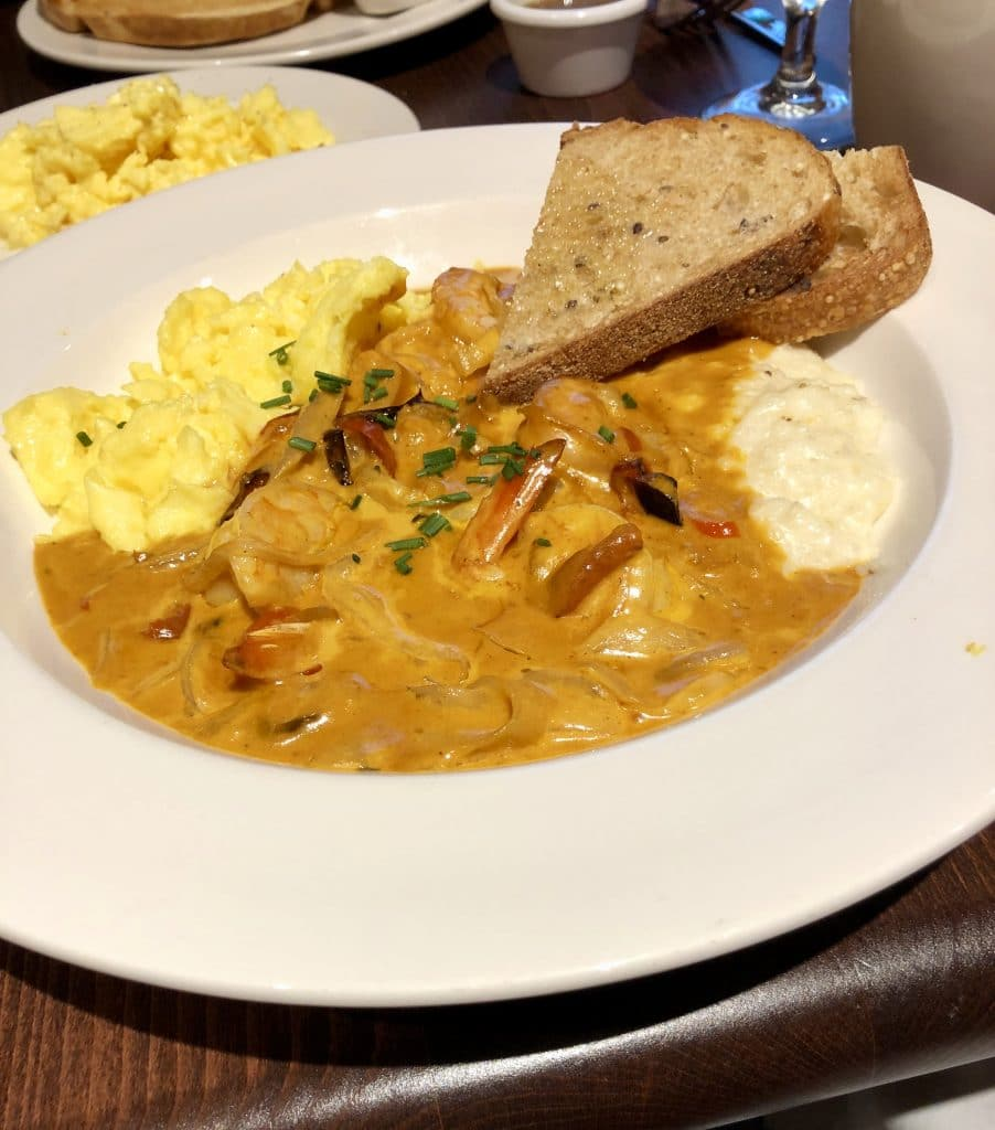 Shrimp and Grits...and Eggs