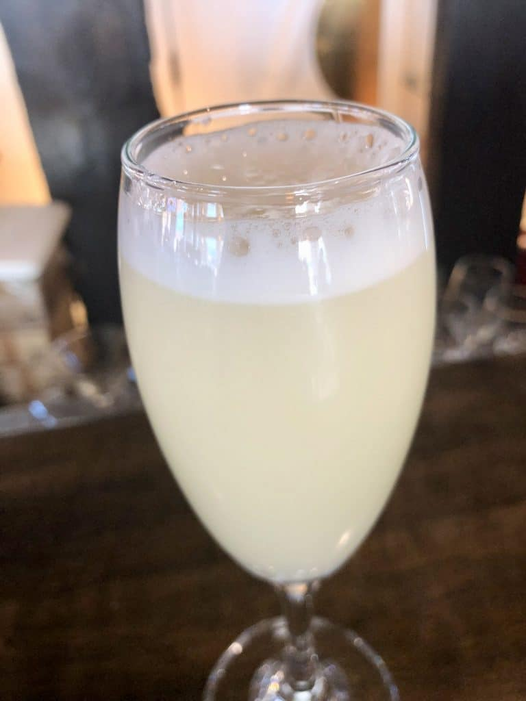The Iconic Pisco Sour