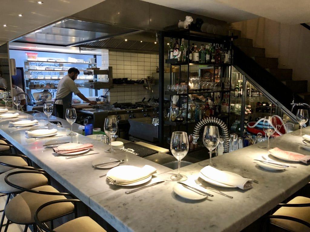 Table at the Bar
