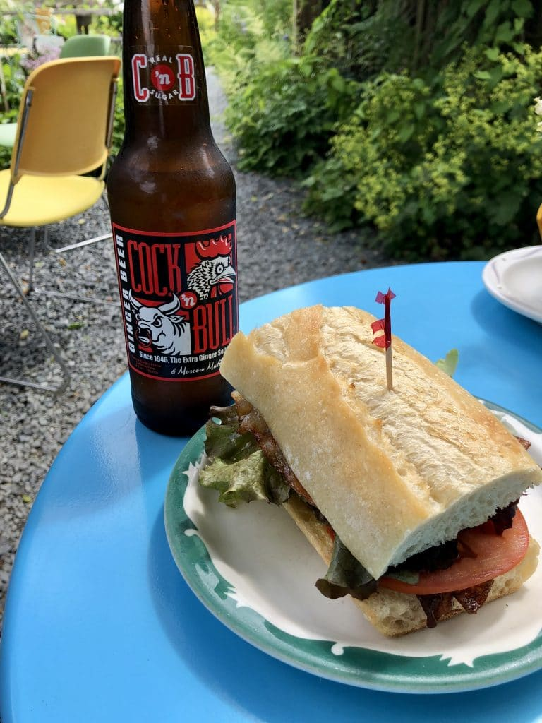 BLT with Ginger Beer