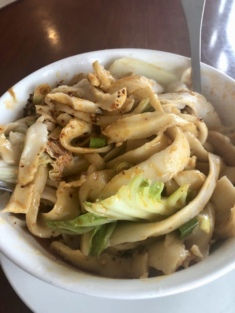 Dandan Noodles with Pork