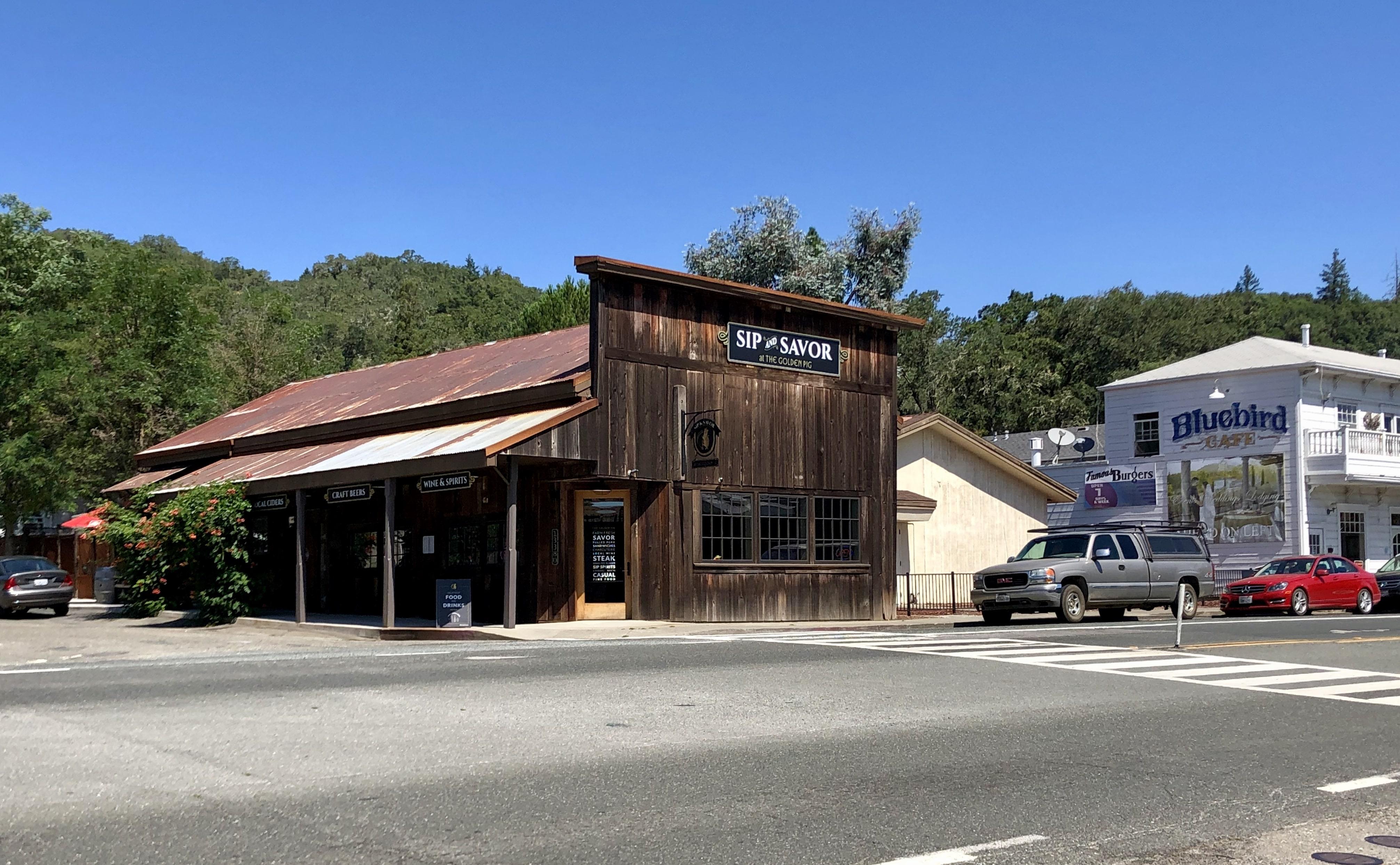 The Golden Pig Hopland CA
