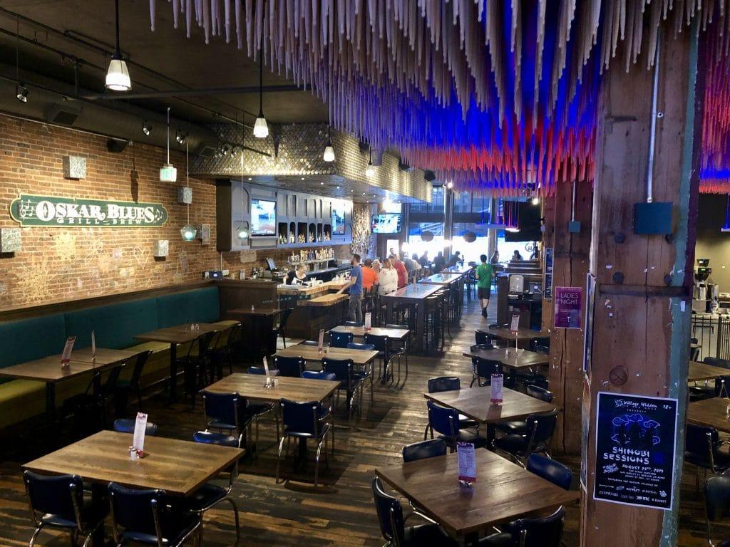Dining Area Oskar Blues Grill & Brew