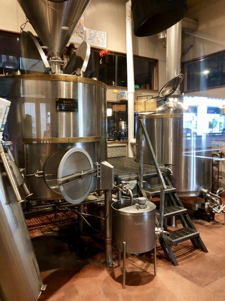 Brewing Tanks Rock Bottom Brewery