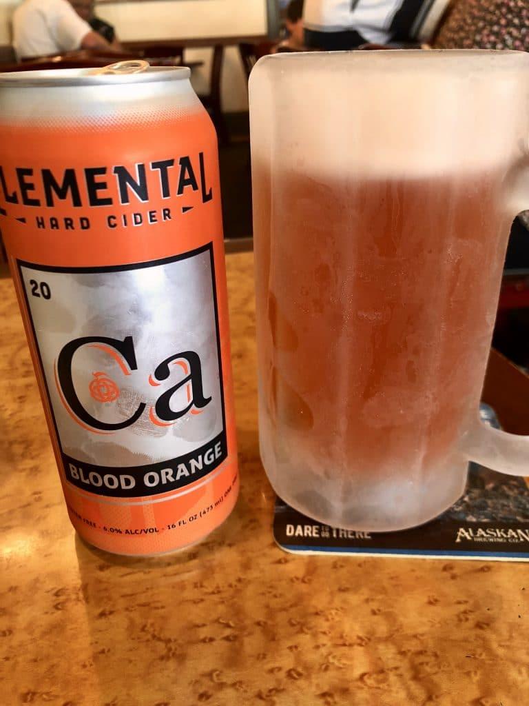 Blood Orange Cider