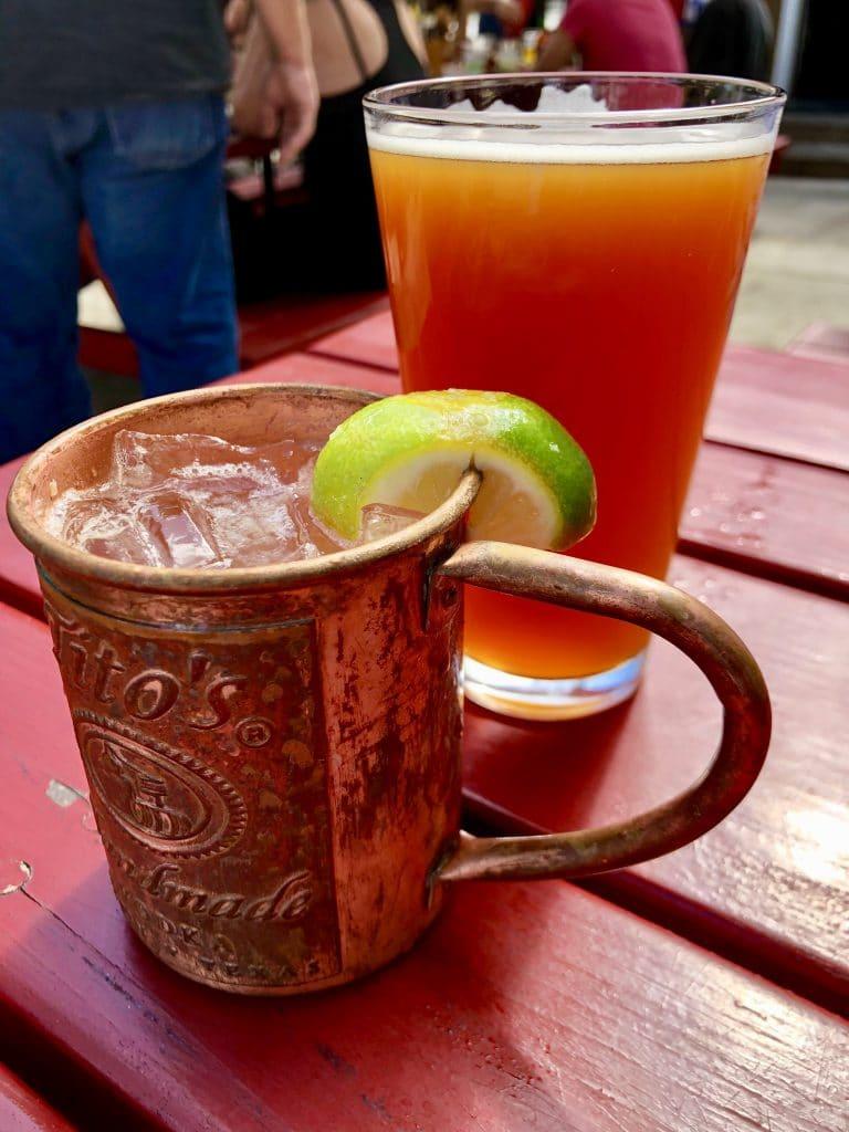 Beer & A Mule