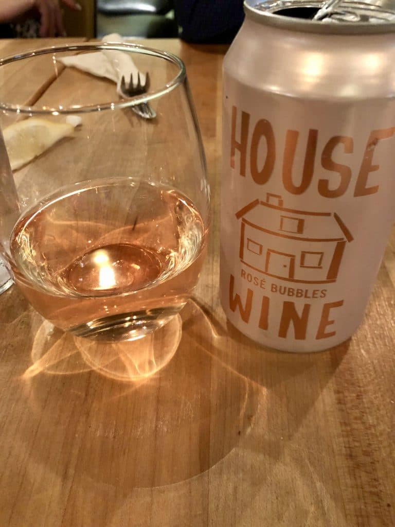 Rosé in a Can