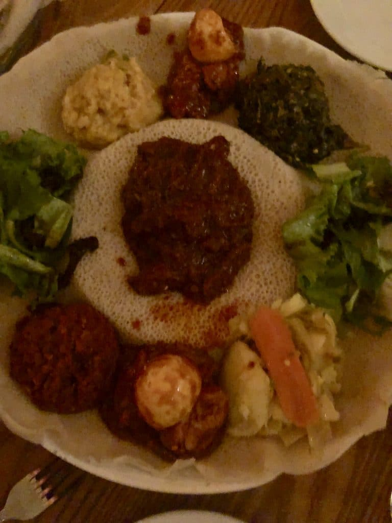 Veggie and Meat Sampler