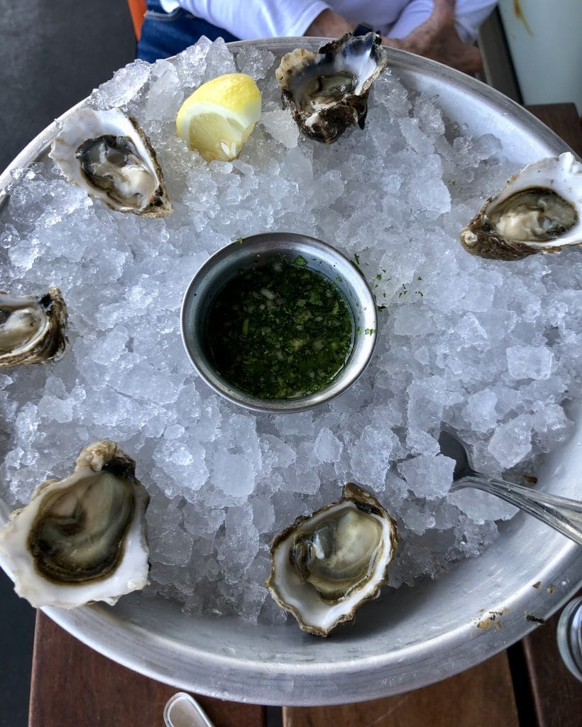 Washington Kumamoto Oysters in CA!