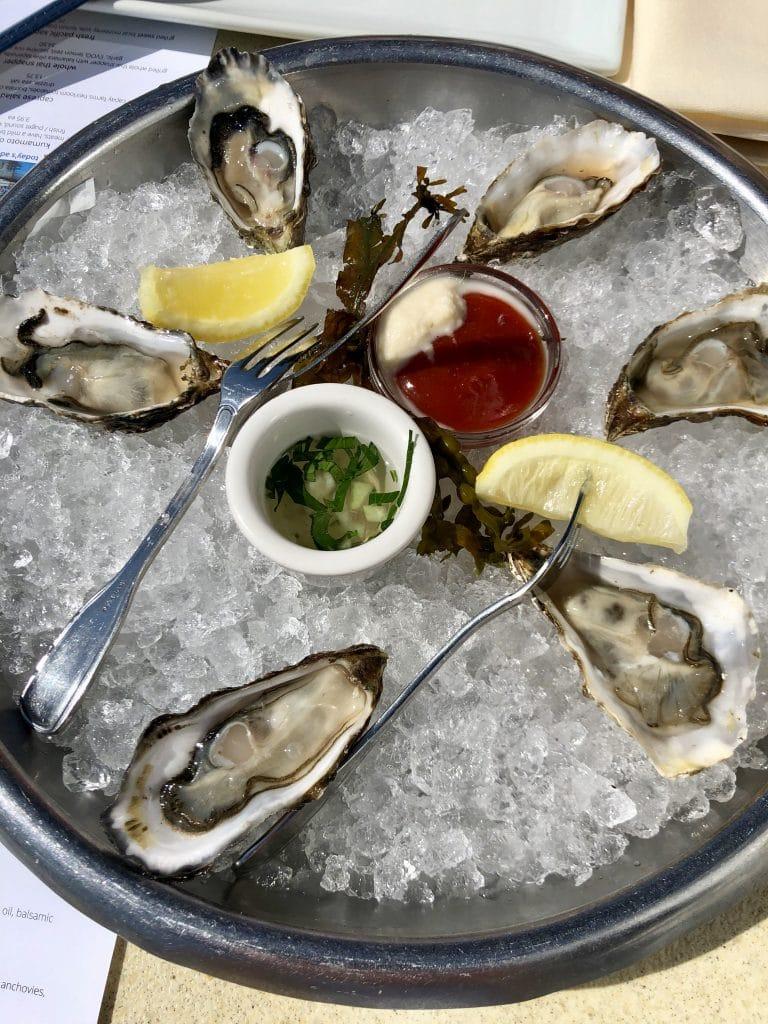 Miyagi Oysters on the Half