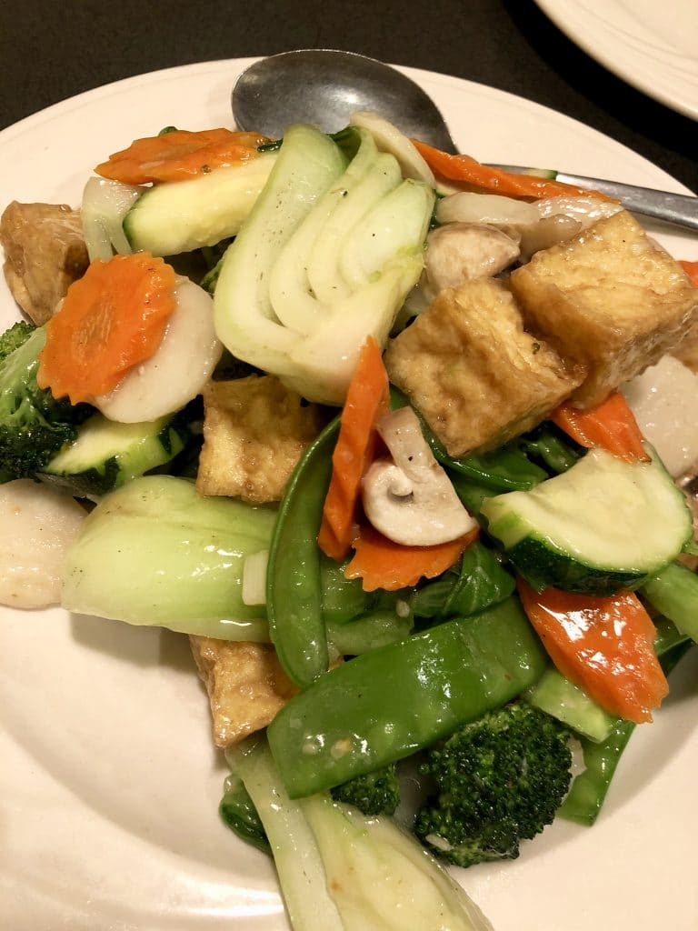 Mixed Vegetable and Tofu