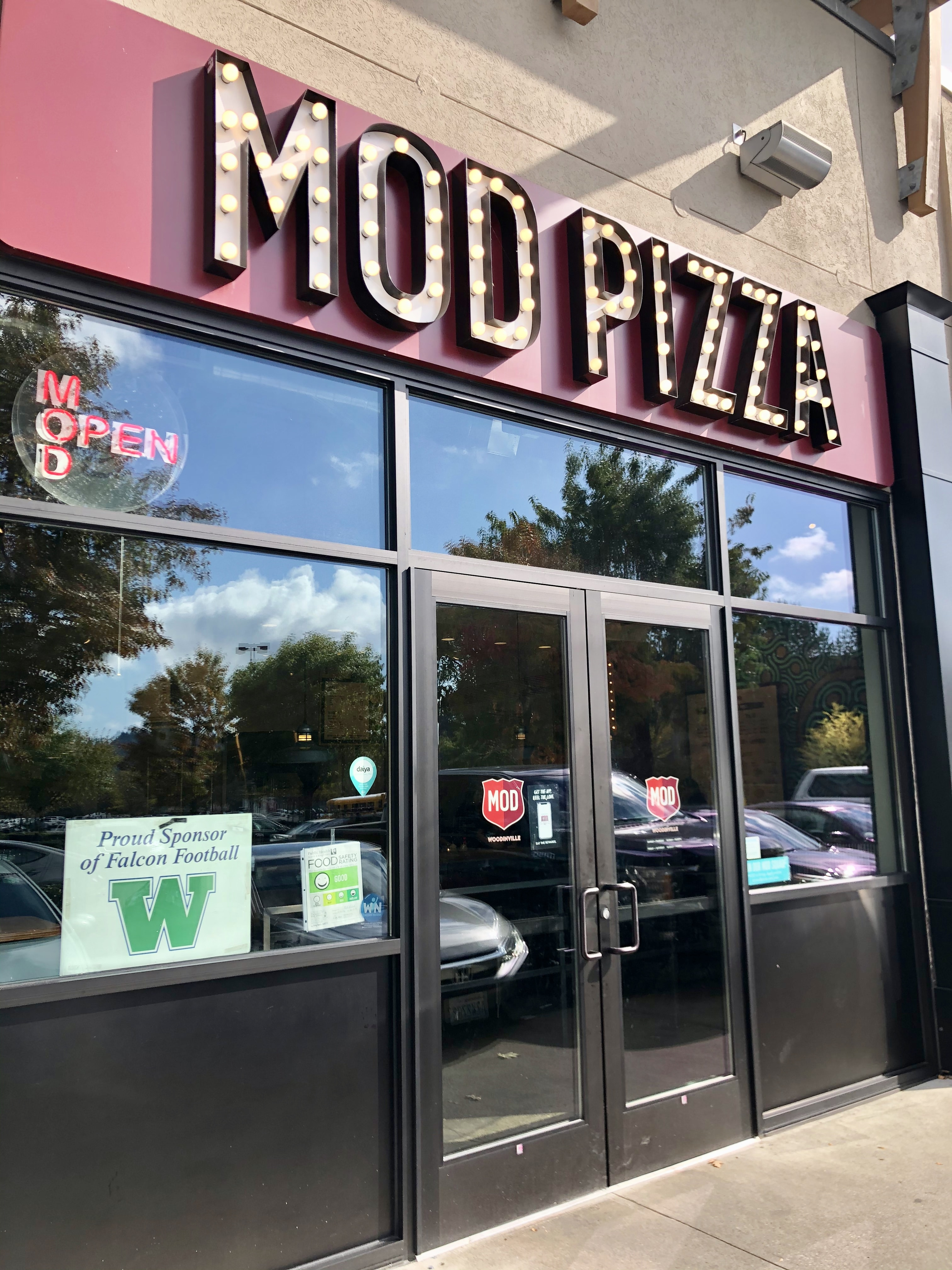 Mod Pizza Woodinville WA