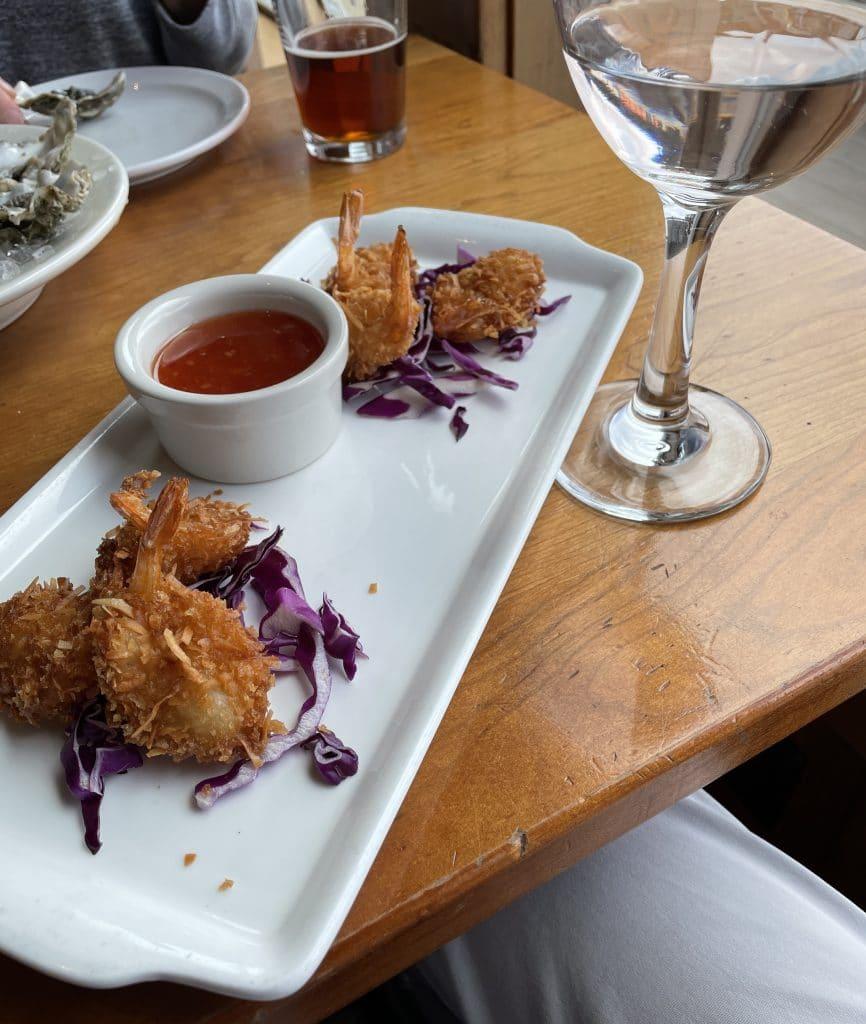 Coconut Prawns with Sweet Chilli Dipping Sauce