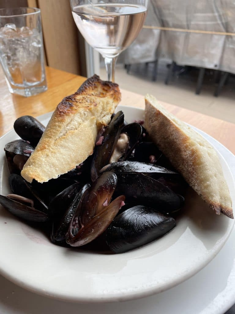 Whidbey Mussels