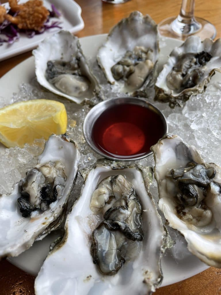 Samish Bay Oysters on the 1/2