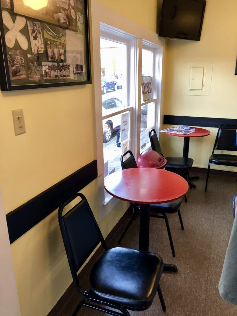 Small Eating Area