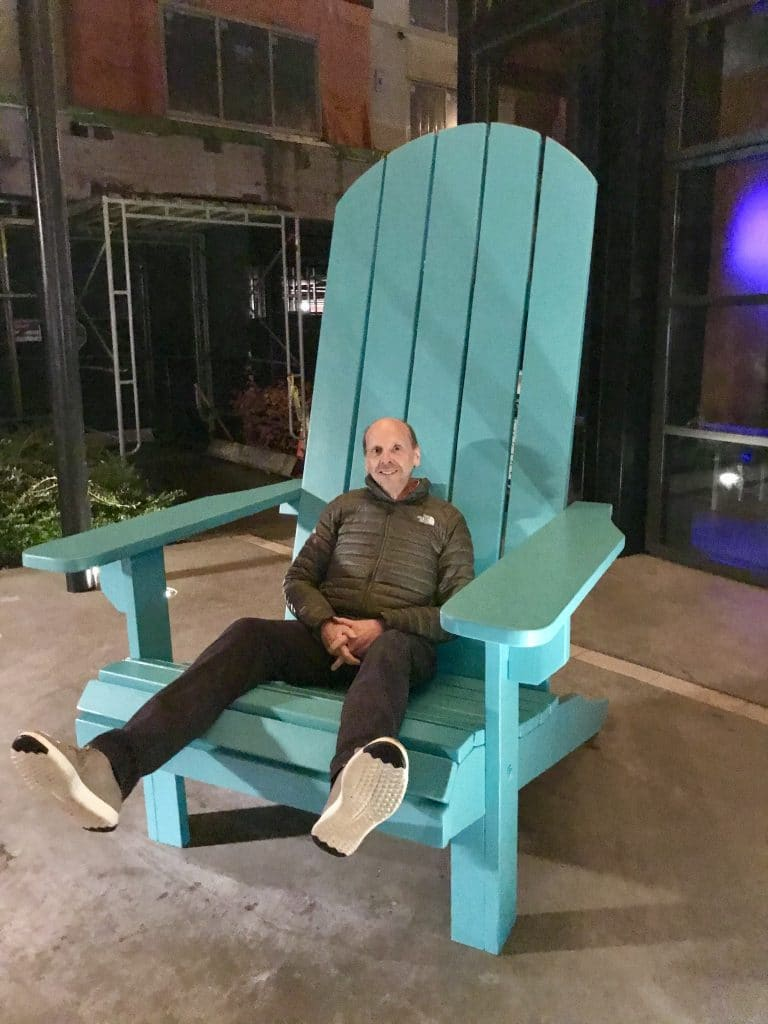 The Hanger Adirondack Chair