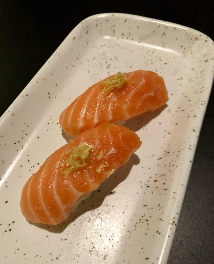 Ora King Salmon Nigiri