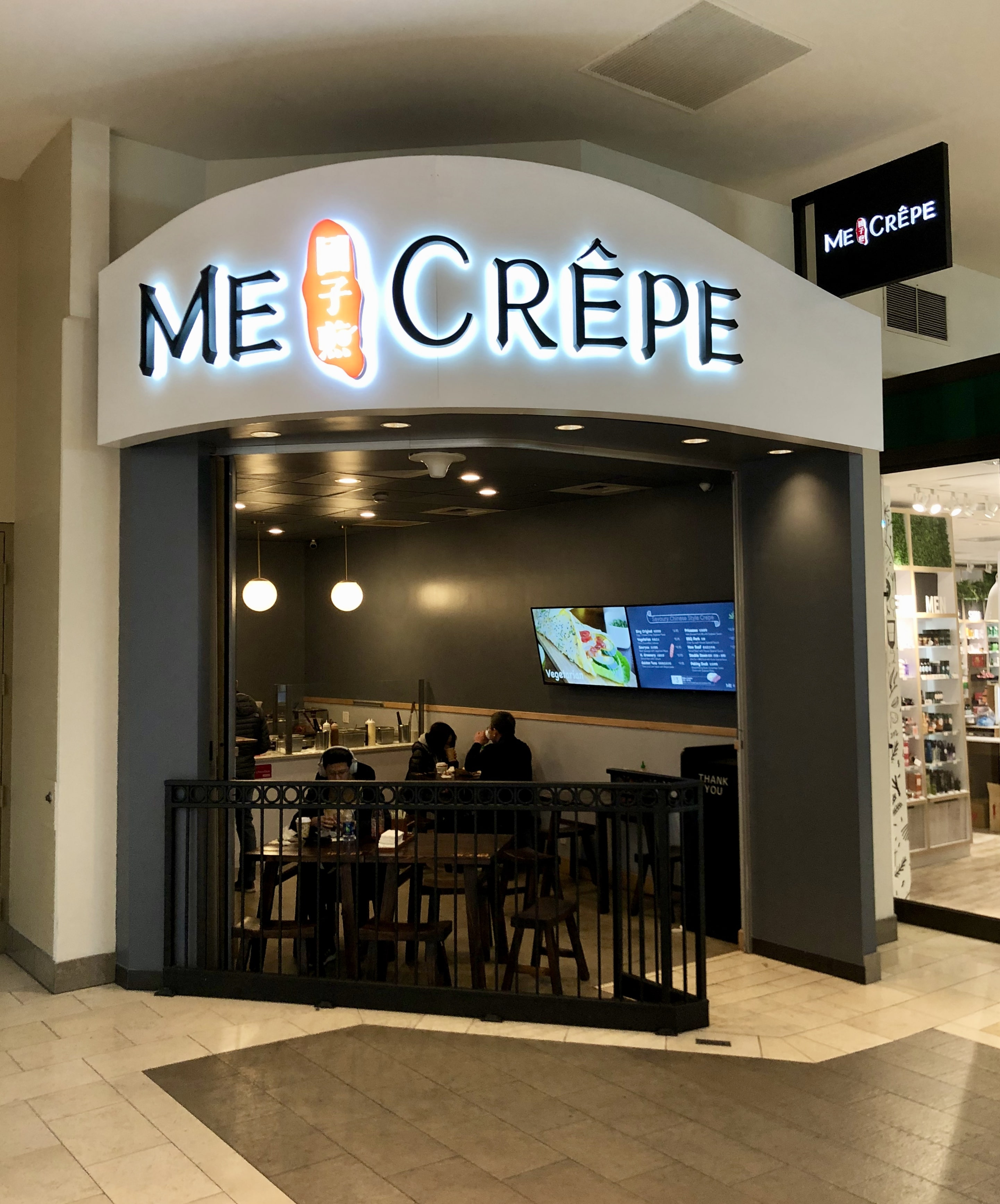 Me and Crêpe Bellevue Entrance