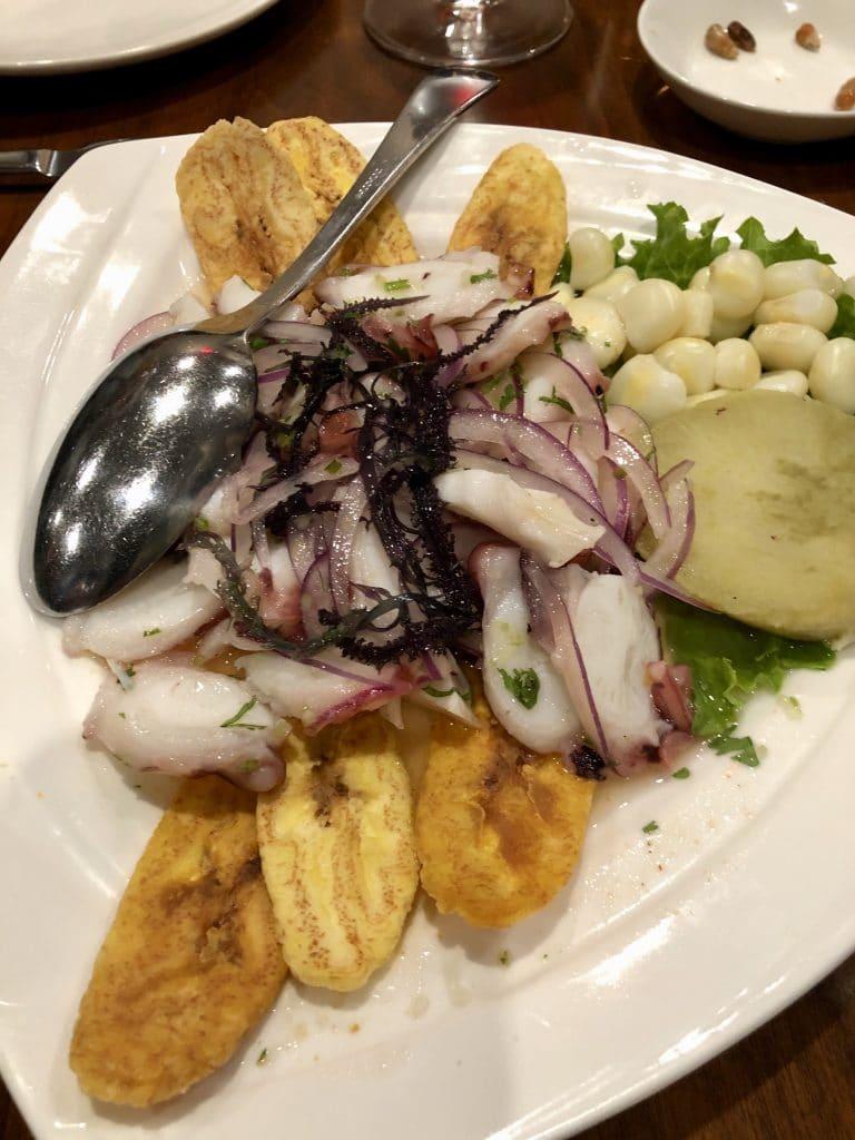 Ceviche Pulpo