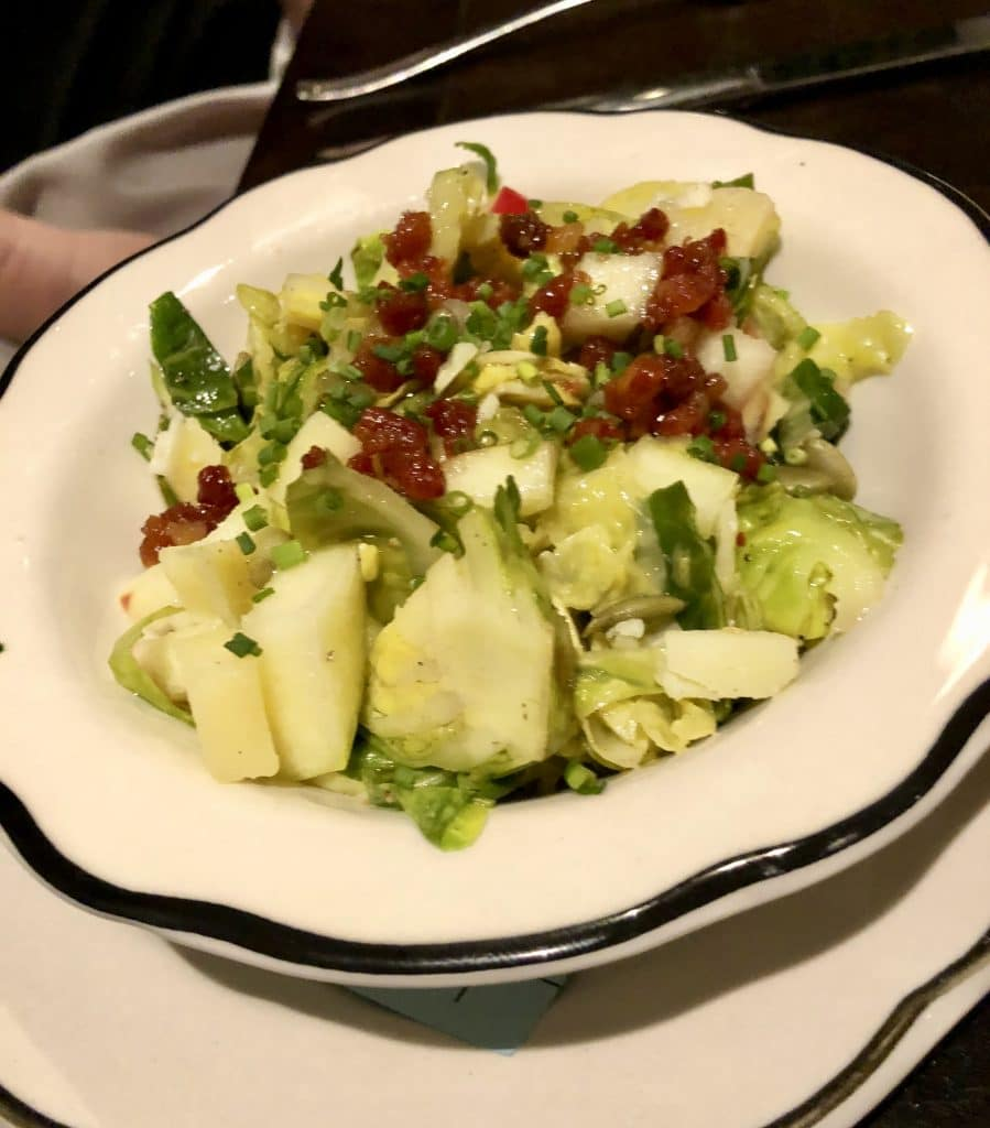 Shaved Brussels Salad