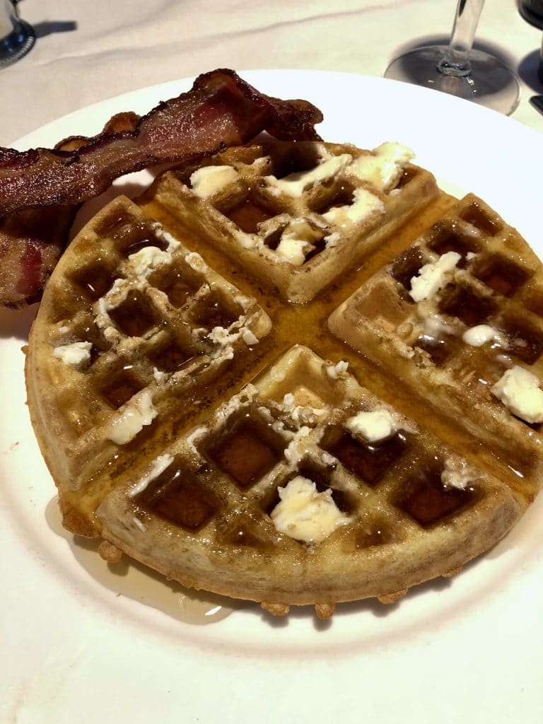 Waffle with a Side of Pork