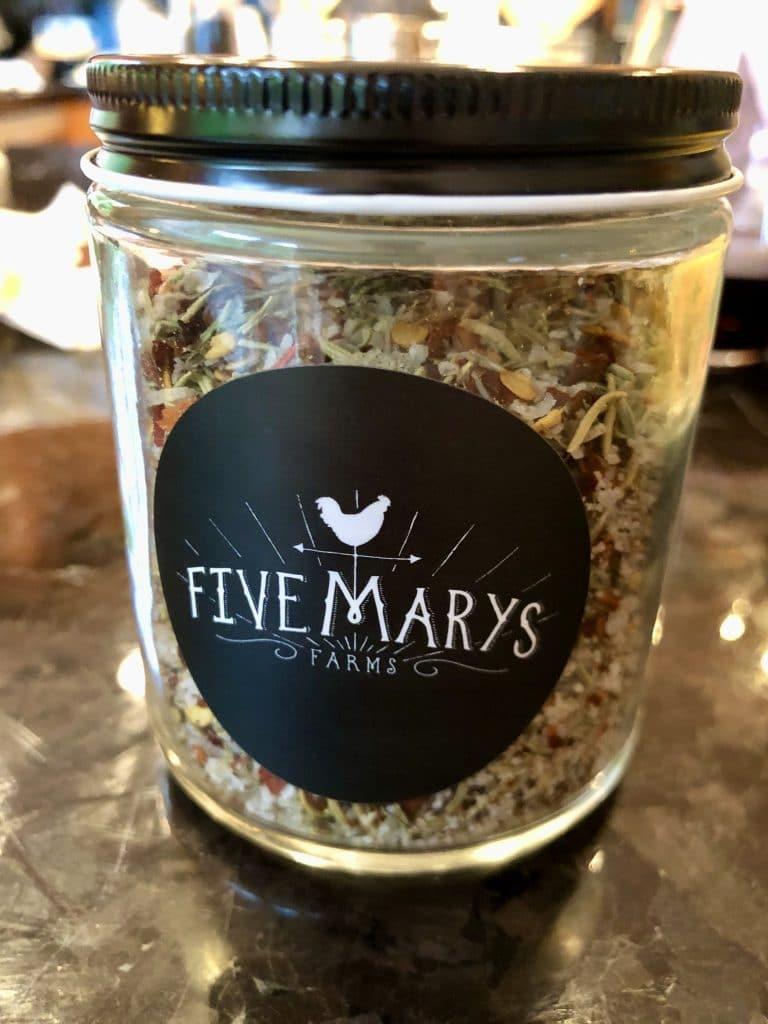 Five Marys Farm Rub