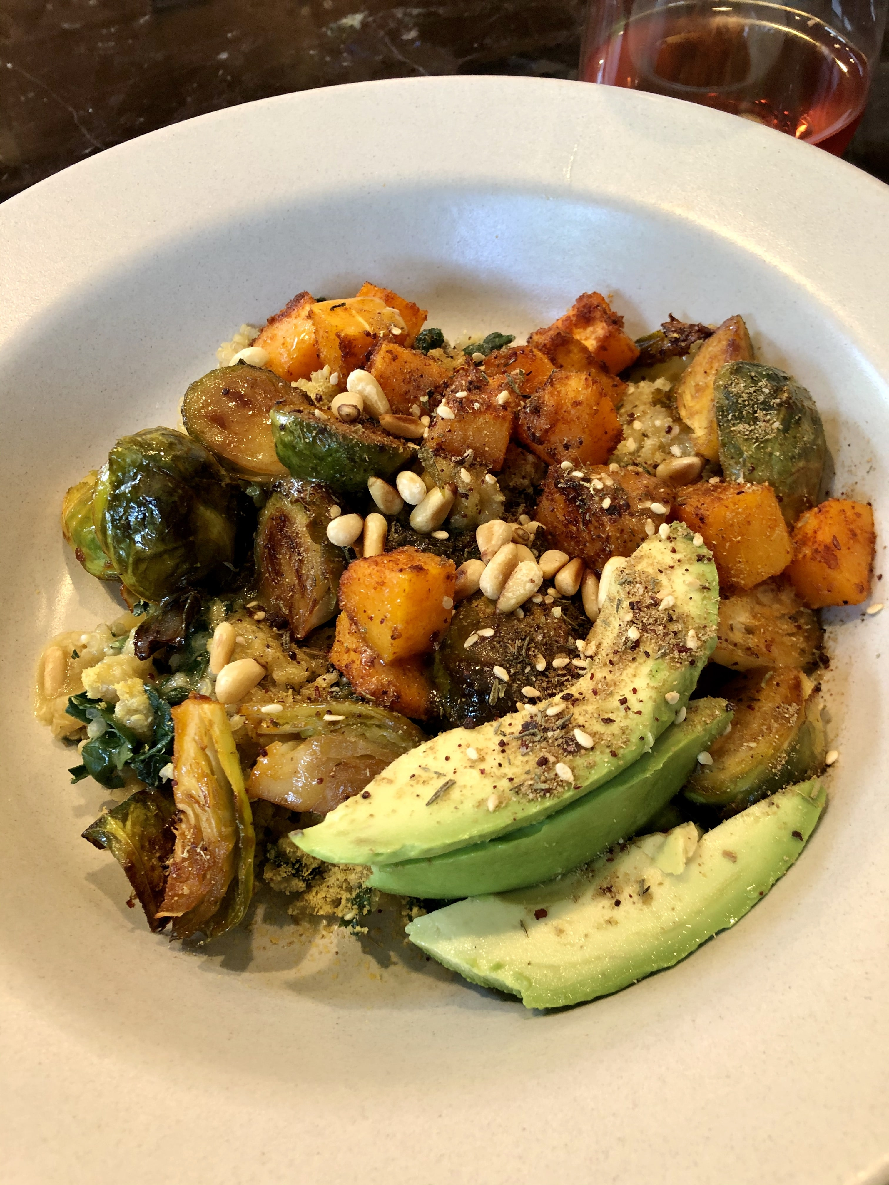 Quinoa and Brussel Sprouts