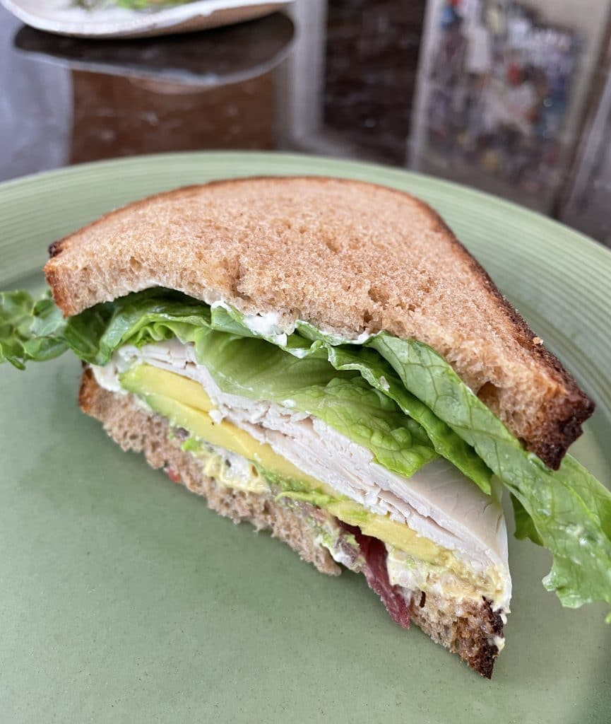 Turkey Deluxe with Avocado and Bacon