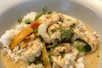 Shrimp and Rice Bowl