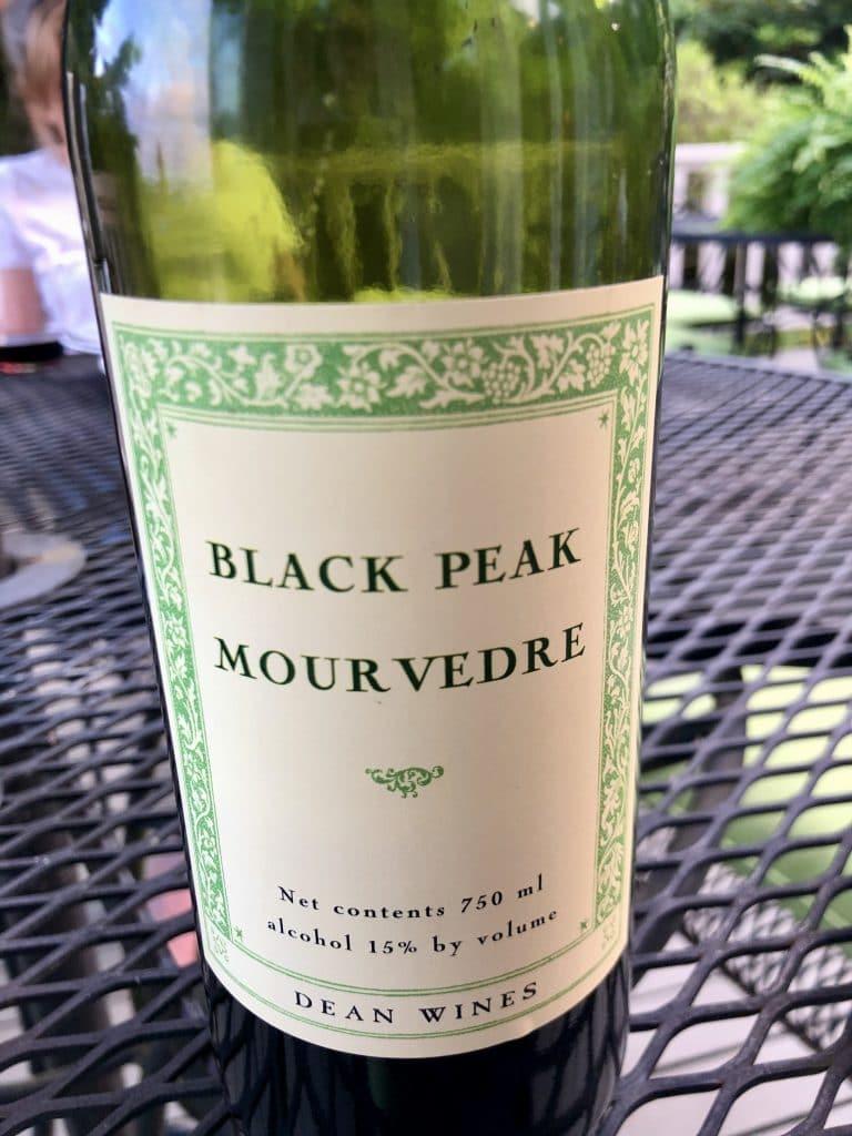 Black Peak Mourvèdre