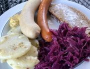 German Sausage Plate