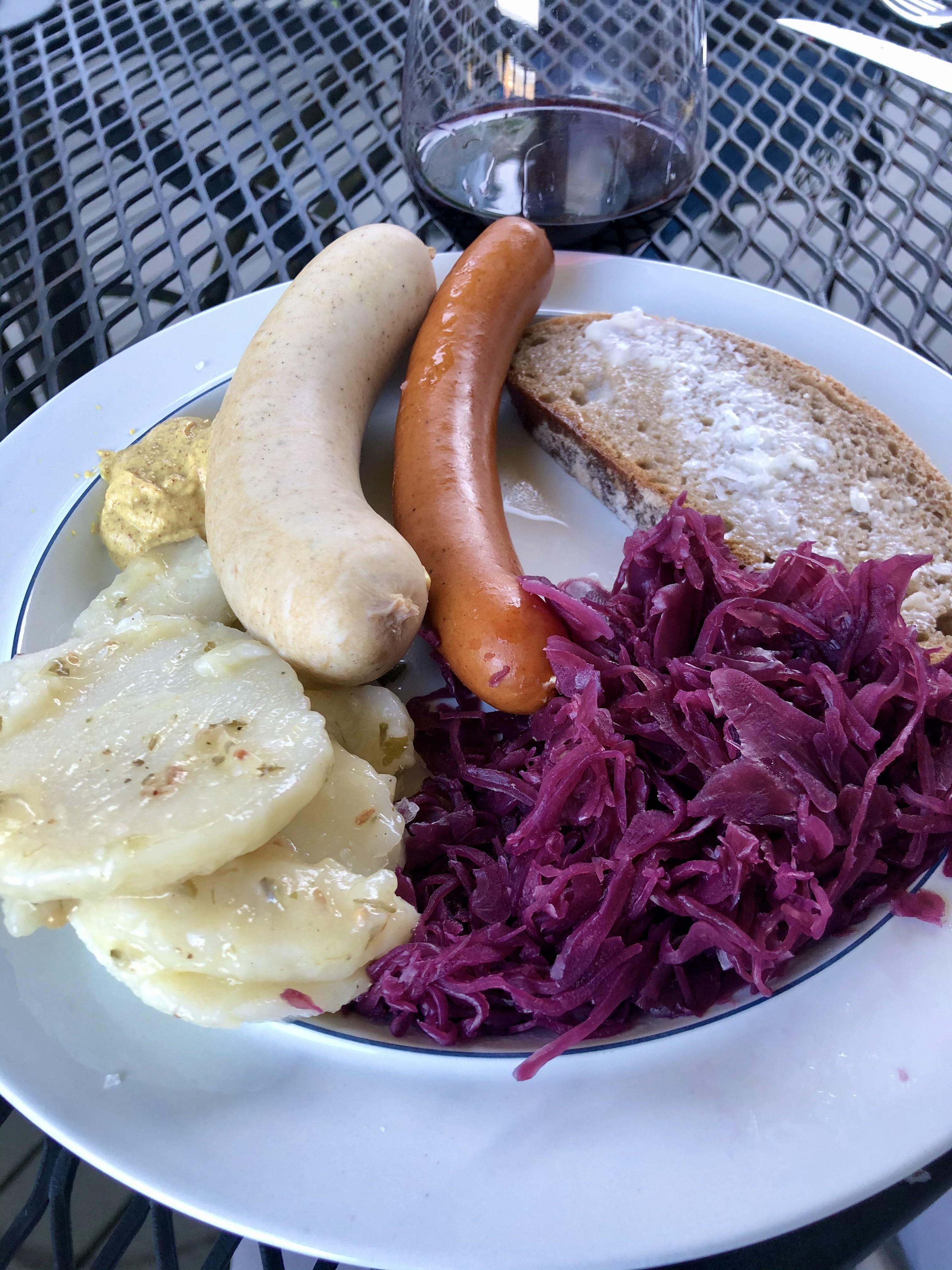 German Sausage Plate